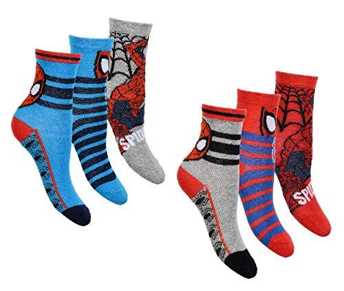 Calzini di Spiderman per ragazzi, confezione da 6...