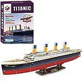 RMS Titanic 3D Puzzle, 113 Pieces
