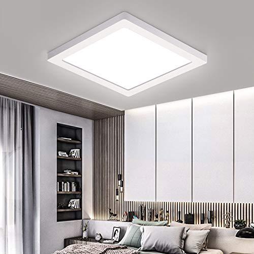 Preisvergleich Produktbild Oeegoo LED Deckenleuchte 13mm,  18W Flimmerfreie Deckenlampe 1530lm (130W Glühlampe Ersatz),  Led Flurlampe,  Einbauleuchte,  Wohnzimmerlampe Neutralweiß 4000K