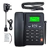 Lychee Wireless Quad Band GSM Fixed Wireless Desk Phone - Dual SIM,Support multi-language