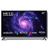 Televisión 42 Pulgadas Smart TV METZ 42MTC6000 Android TV 9,0 sin Marco Google Asistente Control Remoto por Voz 2 años de garantía (42')