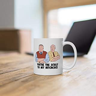 Brooklyn 99 You're The Scully To My Hitchcock koffiemok van 11 oz