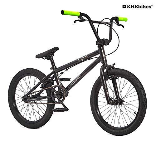 KHE BMX Fahrrad Barcode 20.20 Aluminium Edition schwarz 20 Zoll nur 10,2kg!