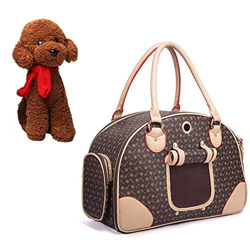 WXQY Faltbare Hund Katze Rucksack Reisetasche, für Kleine Haustiere Leicht und Bequem für Haustiere Wandern