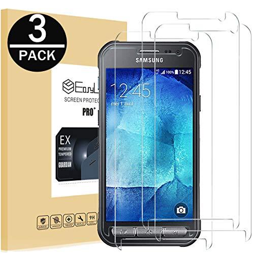 EasyULT Panzerglas Für Galaxy Xcover 3[3 Stück], Displayschutzfolie Displayschutz Glas Folie Panzerglasfolie Schutzfolie für Galaxy Xcover 3(3D Touch Kompatibel)