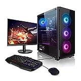 """Megaport PC-Gaming AMD Ryzen 5 3600 6x 3.60GHz • Schermo LED 24"""" • Tastiera/Mouse • GeForce GTX1660 Super 6GB • 240GB SSD • 1000GB HDD • 16GB DDR4 RAM • Windows 10 • WiFi"""
