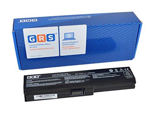 GRS Batterie pour Toshiba C660, L665, remplacé: PA3634U-1BAS, PA3635U-1BAM, PA3635U-1BRM, PA3638U-1BAP, PABAS117, PABAS119, Laptop Batterie 4400mAh/ 48Wh,10.8V
