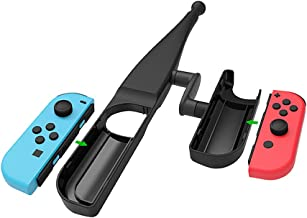 Godyluck Fishing Rod for Nintendo Switch Joy-Con Fishing Game Kit for Switch Controller
