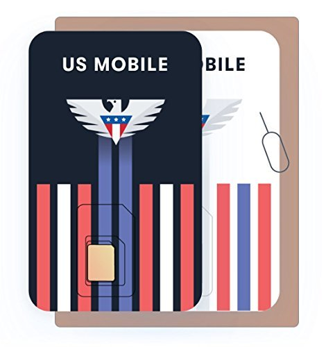 Prepaid SIM Card (US Mobile) – Custom Plans from $4/mo. Unlimited Plans from $10/mo.