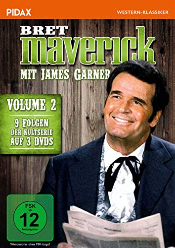 Bret Maverick, Vol. 2 / Weitere neun Folgen der legendären Westernserie mit James Garner (Pidax Western-Klassiker) [3 DVDs]