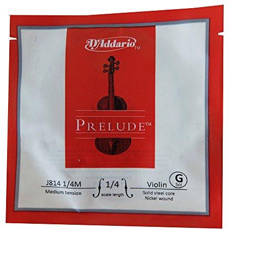 D'Addario Orchestral Prelude - Sol escala 1/4, tensión media