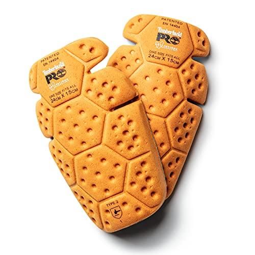 Timberland PRO mens Anti-Fatigue Technology Knee Pad Inserts Winter Accessory Set, Orange, One Size US