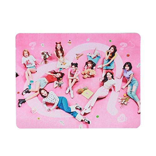 Saicowordist KPOP TWICE Mini 5. Serie waar is love dezelfde hiel muismat officiële rubberen muismatten beste cadeau voor fans Twice2