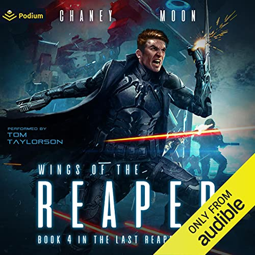 Wings of the Reaper Audiobook By JN Chaney, Scott Moon cover art