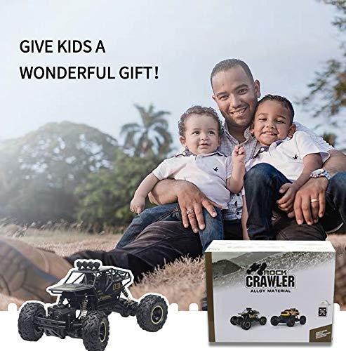 RC Auto kaufen Monstertruck Bild 6: LBLA RC Auto, Elektrische Funkfernbedienung Auto, 1:16 RC Auto Geländewagen, 2,4 GHz Off-Road Rock Crawler, Fernbedienung Auto Spielzeug Geschenk für Kinder Jungen*