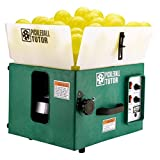 Oncourt Offcourt The Pickleball Tutor Portable Ball Machine (Battery-Powered, Random Oscillation, 2-Line Feature, Electronic Elevation, Wireless 2-Function Remote)