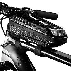 GagaRia 自転車用 フロント バッグ 防水 大容量 トップチューブ ロードバイク パンク修理キット入れ