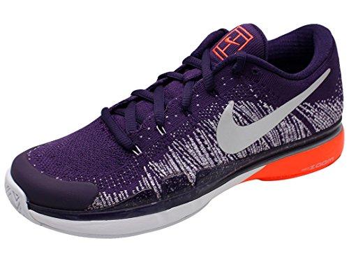 Nike 885725-500, Scarpe da Tennis Uomo, Viola/Argento Metallizzato (Grand Purple), 47 EU