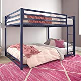 DHP Miles Metal Bunk Bed, Blue, Full over Full