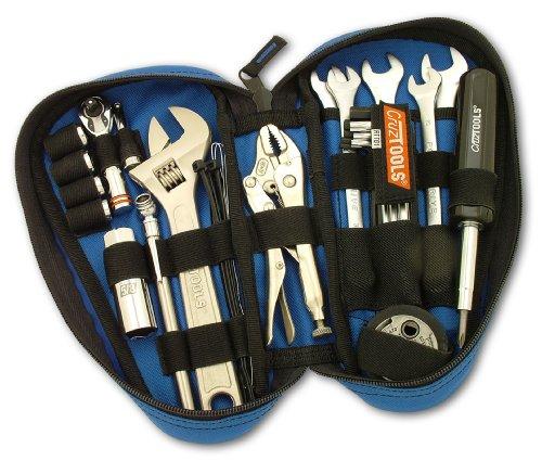 CruzTOOLS RTTD1 RoadTech Teardrop Tool Kit for Harley-Davidson Motorcycles , black