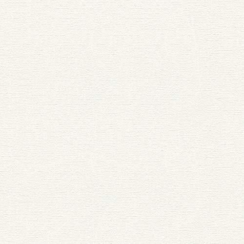 Vliestapete Mustertapete Tapeten mit Muster 336381 33638-1 A.S. Création Meisterputz 15 m | Weiß | Muster (21 x 29,7 cm)
