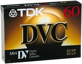 TDK Mini Digital Video Cassette (6 Cassettes)