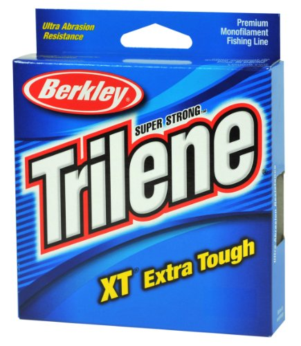 Berkley Trilene XT Filler 0.08-Inch Diameter Fishing Line, 4-Pound Test, 330-Yard Spool, Low Vis Green