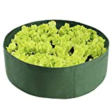 Warooma 15 Gallon Raised Garden Bed, Planting Raised Bed Container Round Grow Bag Felt Fabric Planter Pot for...