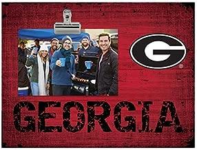 Fan Creations NCAA Georgia Bulldogs Team Name Clip-It Photo Frame
