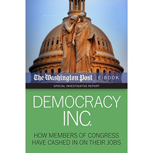 Democracy Inc. audiobook cover art