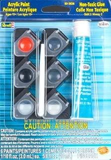 Revell Acrylic Paint/Glue/Brush Set Plastic Model Kit (85-3836)