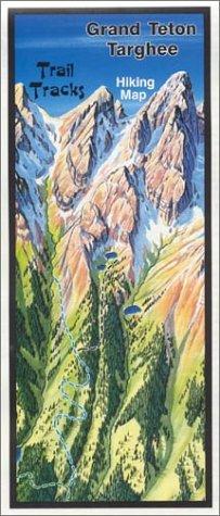 Grand Teton/Targhee Panoramic Hiking Map
