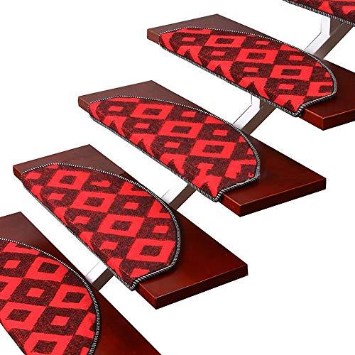 alfombra YNN Estriberas para escaleras escaleras escaleras Manta para escaleras Antideslizante escalones - Juego de 1 Piezas (Color : A-1pcs, Tamaño : 75 * 24 * 3cm)