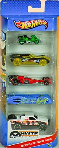Hot Wheels Car 5Pack Stunt Circuit x9849 (Colors/Styles Vary)