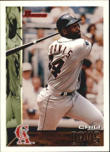 1995 Bowman #387 Chili Davis California Angels MLB Baseball Card NM-MT