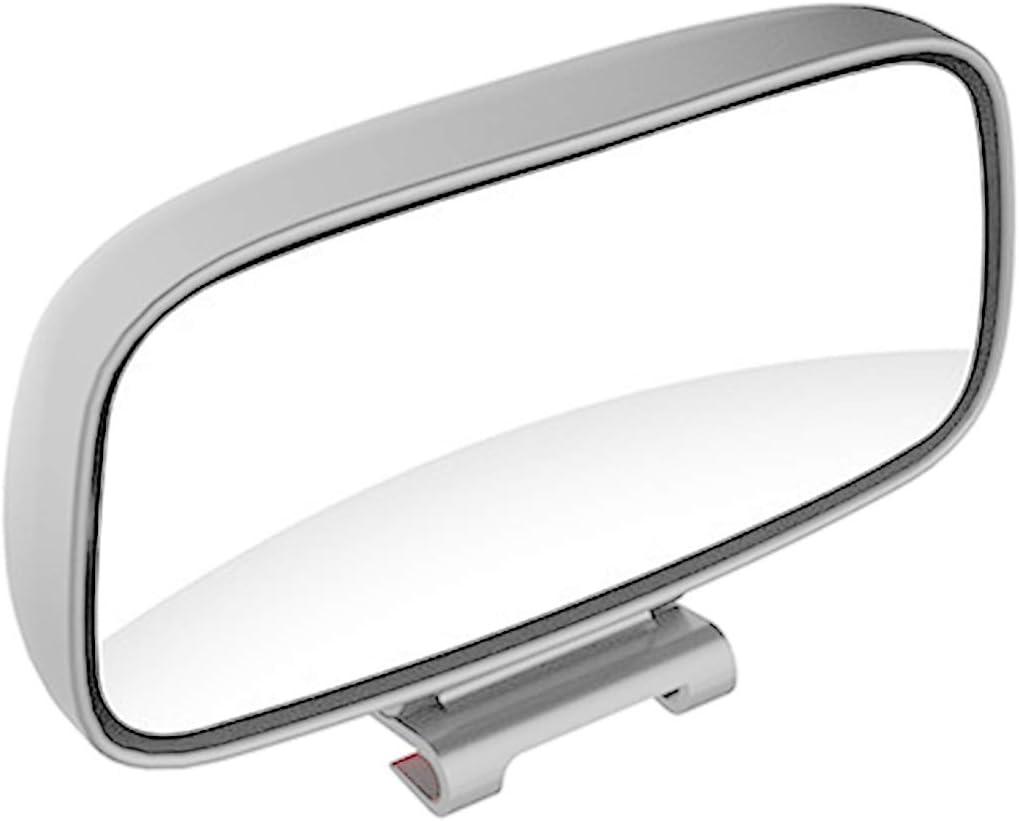 Esenlong Espejo de Punto Ciego Universal para Coche Espejo Retrovisor Ajustable Gran Angular de Rotaci/ón de 360 ??Grados Blanco