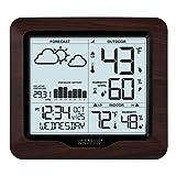La Crosse Technology 308-1417BL Backlight Wireless Forecast Station with...