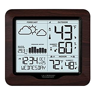 La Crosse Technology 308-1417BL Backlight Wireless Forecast Station with Pressure (B075K2BP98) | Amazon price tracker / tracking, Amazon price history charts, Amazon price watches, Amazon price drop alerts
