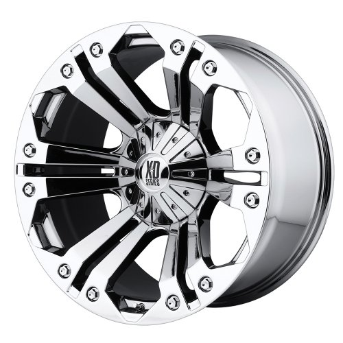 XD Series by KMC Wheels XD778 Monster Triple Chrome Plated Wheel (20x9'/6x135mm,...
