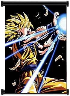 ActRaise Dragon Ball Z Anime Super Saiyan Goku Fabric Wall Scroll Poster (16x21) Inches [ACT] DragonBallZ-36