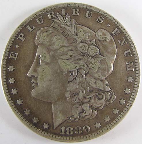 1880 O Morgan Silver Dollar $1 Very Fine