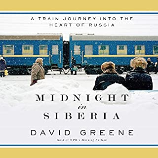 Midnight in Siberia audiobook cover art