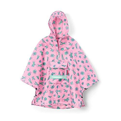 reisenthel mini maxi poncho M kids - cactus pink Maße: 93 x 62 x 0 cm