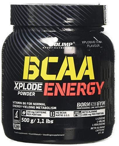 Olimp Nutrition BCAA Xplode Energy, Xplosive Cola, 1 kg