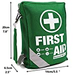 First Aid Kit -Compact First Aid Bag(175 Piece) - Reflective Bag Design- Includes 2 x Eyewash,Instant Cold Pack… 3