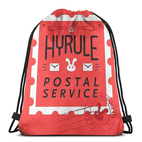 XCNGG Hyrule Postal Service Sport Bag Gym Sack Mochila con cordón