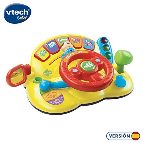 VTech- Volante Interactivo con Voz y luz (3480-166622)
