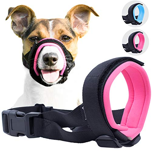 Gentle Muzzle Guard for Dogs - Prevents Biting and Unwanted Chewing Safely –...