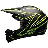 Bell Helmets BH 7080878 Bell MX 2017 SX-1-Casco para Adulto (Talla pequeña), Color Amarillo, Hombre, Whip Matte Hi-Viz, S