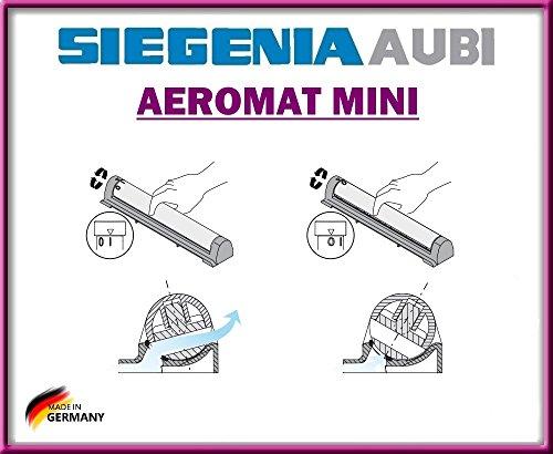 Siegenia AEROMAT MINI Fensterlüfter Fensterlüfter mit Drehverschluss mit Schrauben!!!